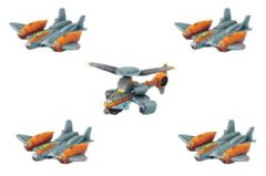 Monsterpocalypse – Strike Fighters & Rocket Chopper: G.U.A.R.D. Unit (resin)
